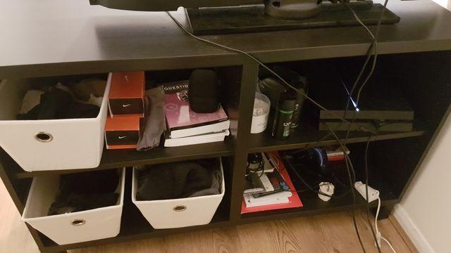TV desk black