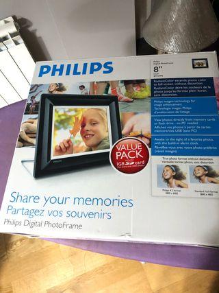 Marco fotos digital Philips