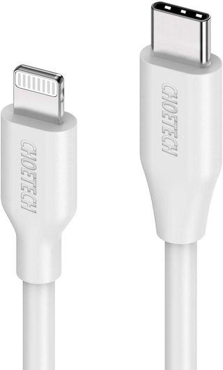 Cable USB C a Lightning(Apple ), 2 metros