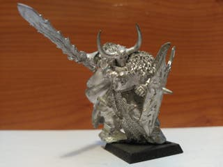 Warhammer Archaon a pie gamesday Guerros del Caos