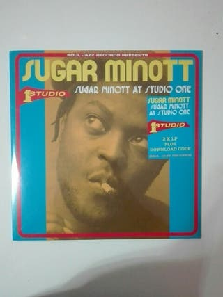 disco vinilo doble Sugar Minott