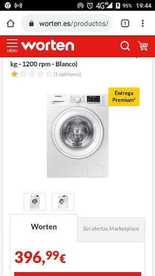 LAVADORA SAMSUNG DE 7KG SOLO 150€ NO SE REBAJA