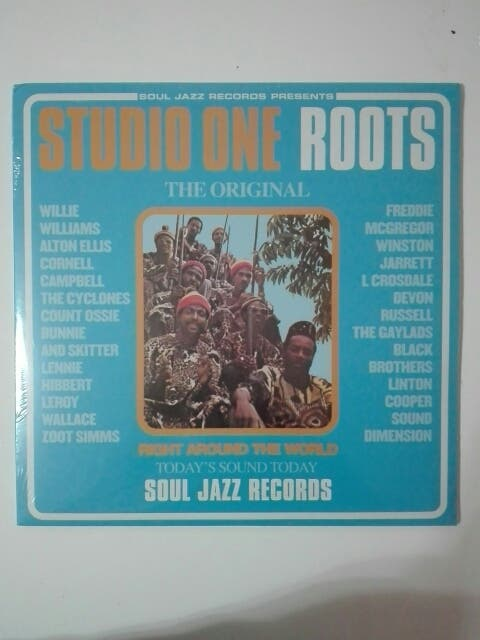 disco vinilo doble Studio one Roots