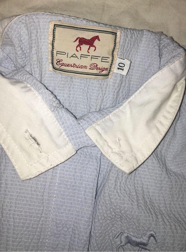 Camisa concurso equitación