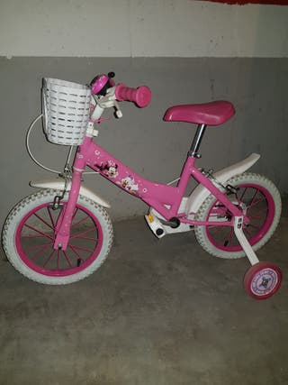 bicicleta de Minni Mouse