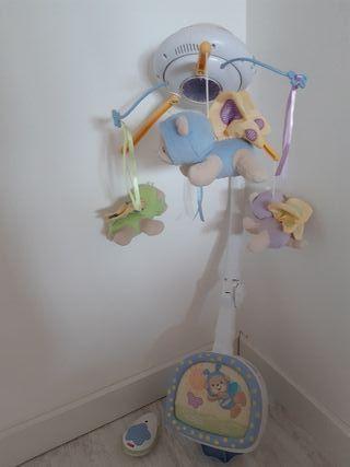 juguete cuna bebé