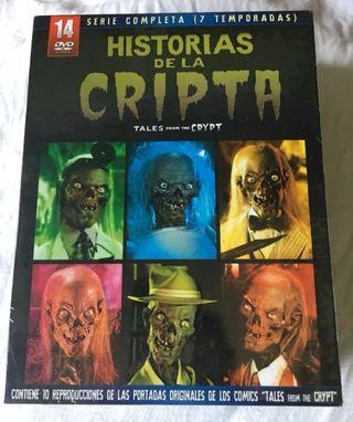serie de terror en DVD.