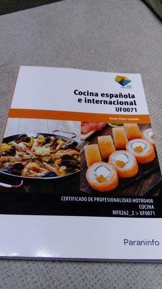 Libro formación profesional de cocina