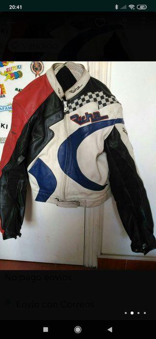 traje de cuero moto