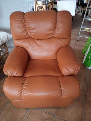 sillón con masaje