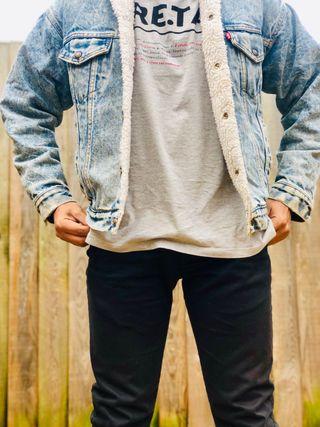 Levis Sherpa Trucker mens jacket