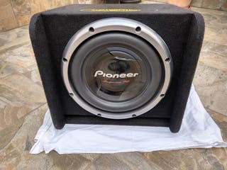 Subwoofer Pioneer 1000RMS + Cajón