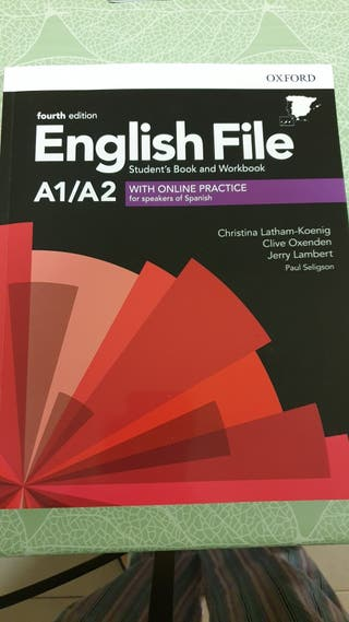 English File a1/a2 Students book and Workbook