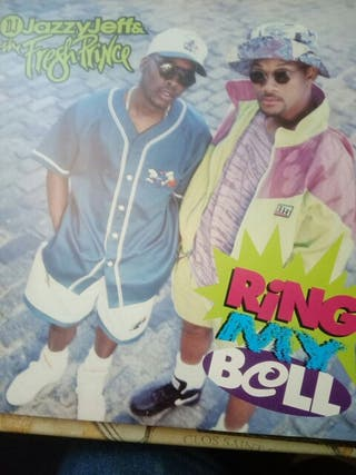 "Vinilo ""Ring My Bell "" del Fresh Prince."