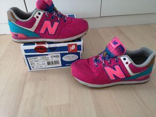 Zapatillas New Balance (talla 37) chica