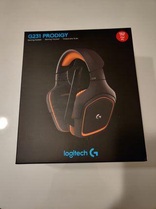 Auriculares Logitech G231 Prodigy