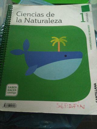 Libro de 1° de primaria ciencias naturales