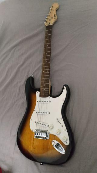 Guitarra Fender Squier Sunburst Bullet Strat