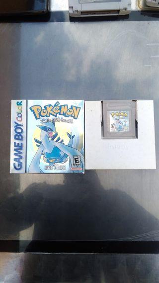 Pokémon silver juego game boy color