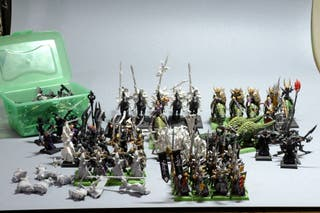Ejército Elfos Oscuros Warhammer Age of Sigmar