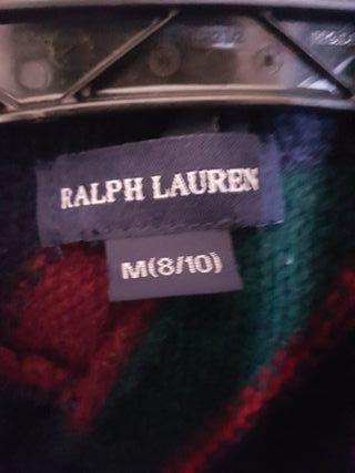 chaqueta t.8 lana ralph lauren