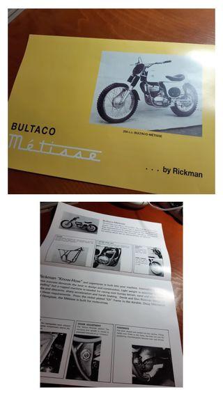 Bultaco catálogos