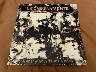 LEÓN BENAVENTE VAMOS A.. Disco vinilo LP firmado