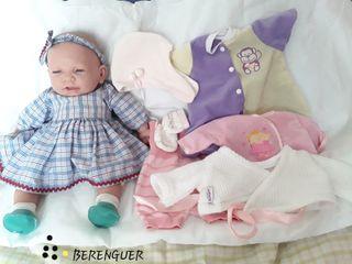 muñeca realista recién nacida BERENGUER