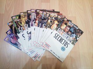 Guerreros Secretos (del 1 al 13) Comics Marvel
