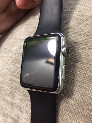 Apple Watch 1, Carcasa de acero