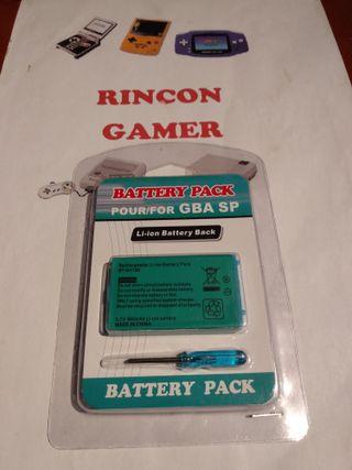 Bateria nueva gameboy advance sp