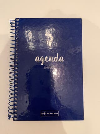Agenda in Spanish and English