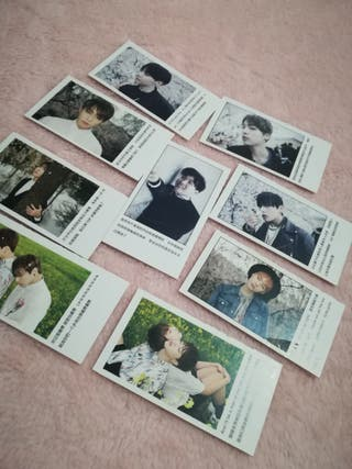 BTS MINI CARDS