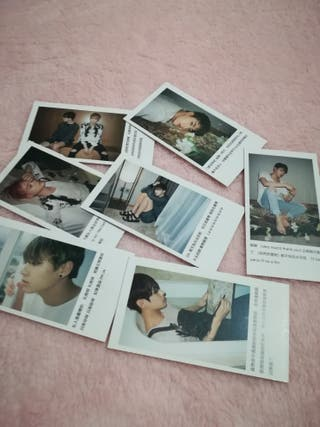 BTS 'I NEED YOU' MINI CARDS