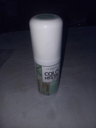 spray L'Oreal Paris color menta