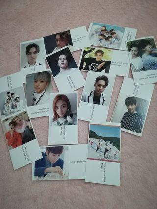 Seventeen mini cards