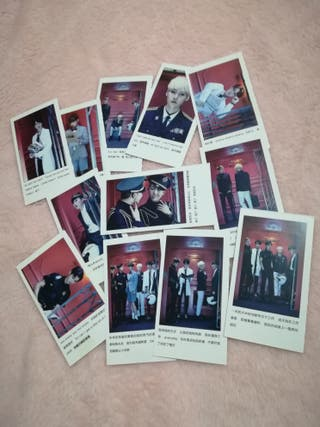 BTS Dope Edition mini cards