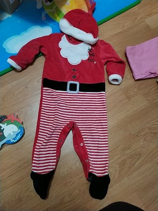 disfraz papá Noel niño