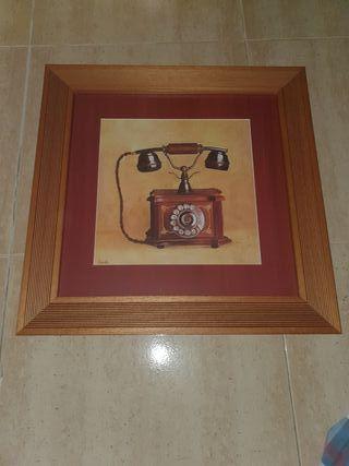 CUADRO - Teléfono antiguo - Perfecto estado