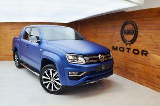 Volkswagen Amarok 3.0 V6 TDI 258CV 2019 Azul Mate