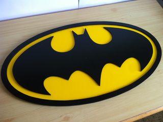 Logo de batman en madera XL