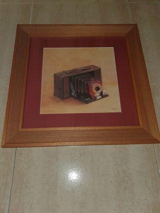 CUADRO - Cámara de fotos antigua - Leer por favor