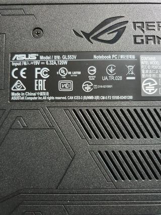 PORTATIL GAMER ASUS ROG STRIX GL553V