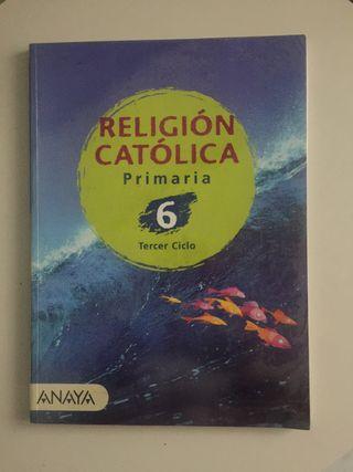 Religión Católica Primaria 6. Anaya