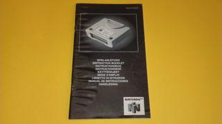 Nintendo 64 N64 Controller Pack Manual
