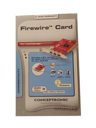 Tarjeta PCI de 3 puertos Firewire IEEE1394