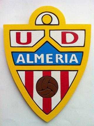 U.D. Almeria Escudo De Madera