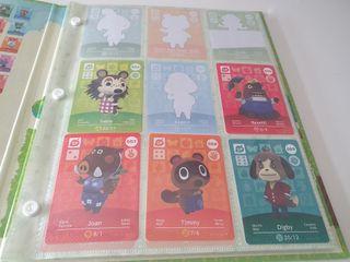 Cartas/Tarjetas Amiibo Animal Crossing Serie 1 y 2