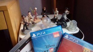 Disney Infinity 3.0 PS4 + Figuras