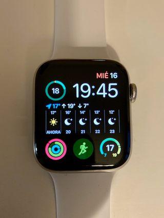 Apple Watch Series 4, 44mm, acero inoxidable, 4G